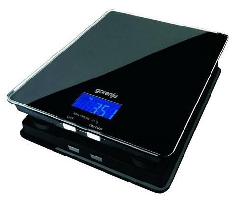Кухонные весы Gorenje KT05BK черный - фото 2