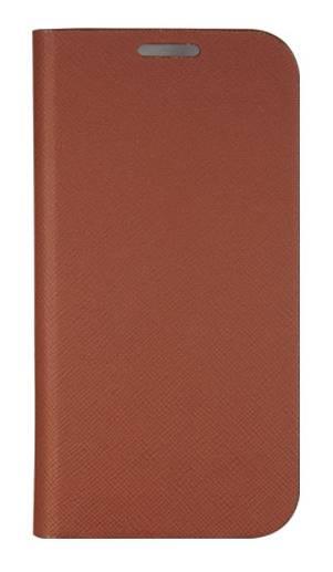 Чехол Anymode для GT-I9500 Galaxy S4 F-BRDC000 коричневый (F-BRDC000RBR) - фото 1