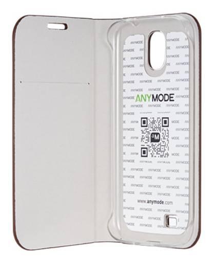 Чехол Anymode для GT-I9500 Galaxy S4 F-BRDC000 коричневый (F-BRDC000RBR) - фото 3