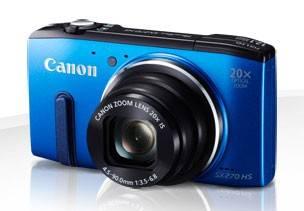 Фотоаппарат Canon PowerShot SX270 HS синий - фото 1