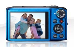 Фотоаппарат Canon PowerShot SX270 HS синий - фото 4