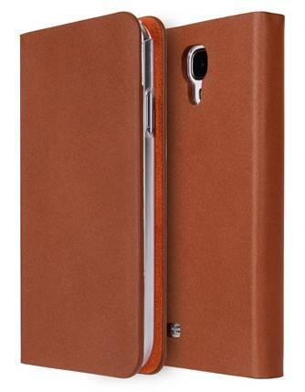 Чехол (флип-кейс) Imymee Classic Leather (S4C53142-BR) коричневый - фото 1