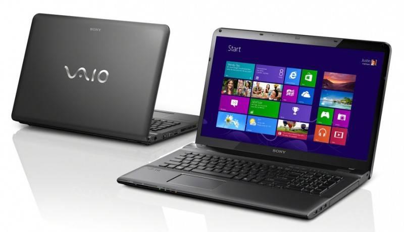 """Ноутбук 17.3"""" Sony SVE1713V1RB черный - фото 3"""