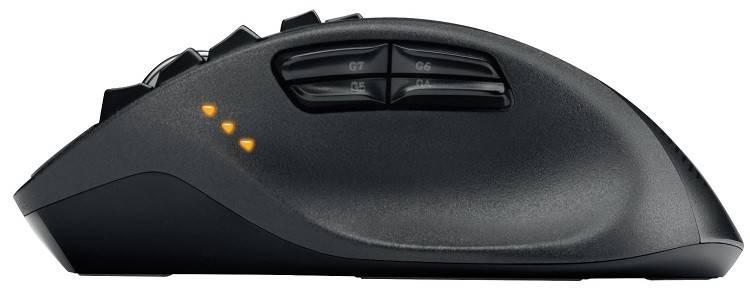 Мышь Logitech G700s черный - фото 4
