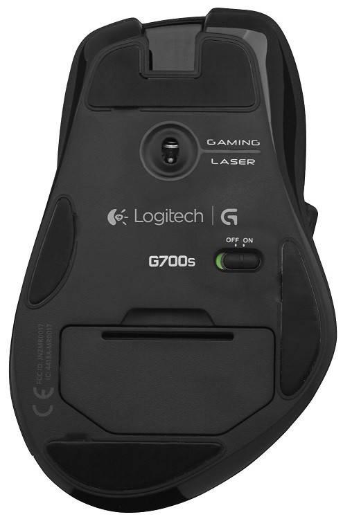 Мышь Logitech G700s черный - фото 5