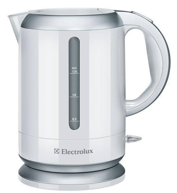 Чайник электрический Electrolux EEWA3130 белый - фото 1