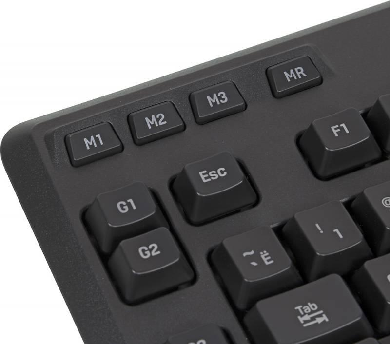 Клавиатура Logitech G105 черный (920-005056) - фото 7