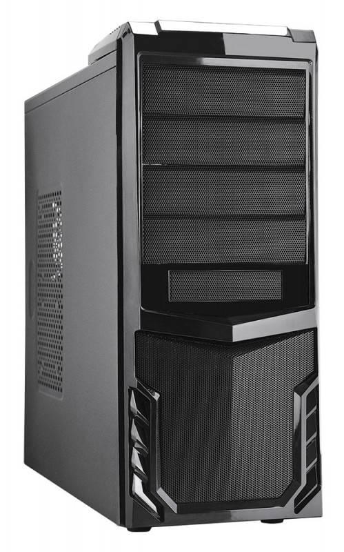 Корпус ATX 500W Formula FA-002B черный - фото 1