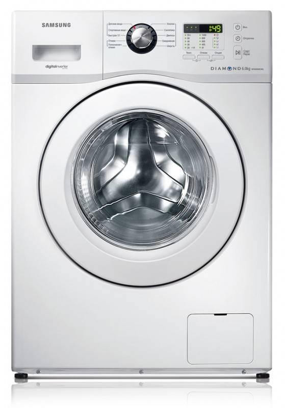 Стиральная машина Samsung WF600B0BCWQ белый - фото 1