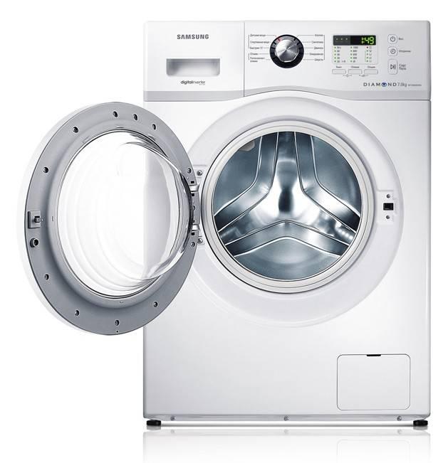 Стиральная машина Samsung WF700B0BDWQ белый - фото 2