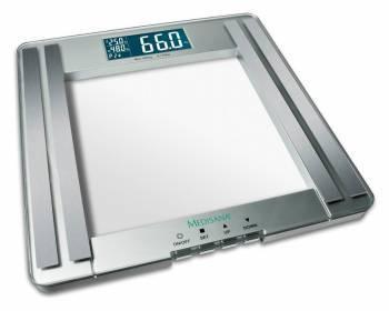 Весы напольные электронные Medisana PSM серебристый (40446)