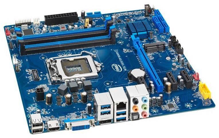 Материнская плата Soc-1150 Intel DH87RL mATX - фото 1