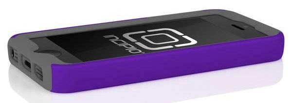 Чехол (клип-кейс) Incipio DualPro, IPH-817 фиолетовый/серый - фото 3