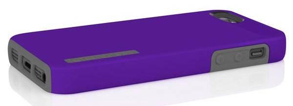 Чехол (клип-кейс) Incipio DualPro, IPH-817 фиолетовый/серый - фото 4