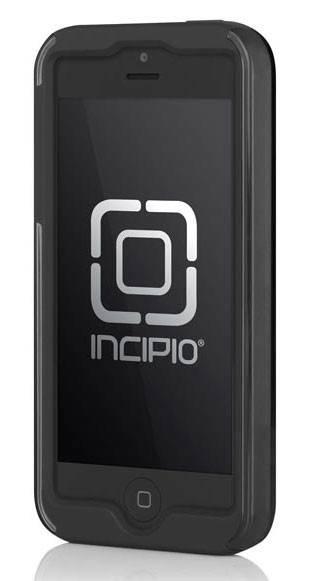 Чехол Incipio для iPhone 5/5S Dual PRO Shine Titanium Silver/Obsidian Black (IPH-875) - фото 2