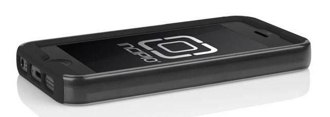 Чехол Incipio для iPhone 5/5S Dual PRO Shine Titanium Silver/Obsidian Black (IPH-875) - фото 3
