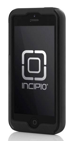 Чехол Incipio для iPhone 5/5S Dual PRO CF Silver/Black Silicone (IPH-914) - фото 2