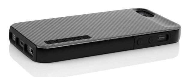 Чехол Incipio для iPhone 5/5S Dual PRO CF Silver/Black Silicone (IPH-914) - фото 4