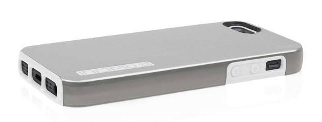 Чехол Incipio для iPhone 5/5S Dual PRO Shine Light Silver/Optical White (IPH-877) - фото 4