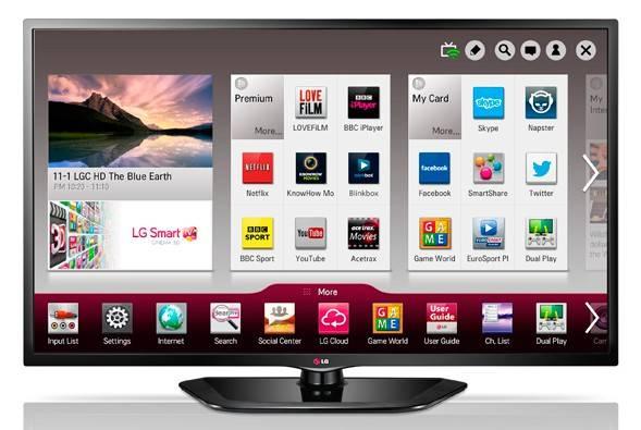 """Телевизор LED 32"""" LG 32LN570V черный - фото 1"""