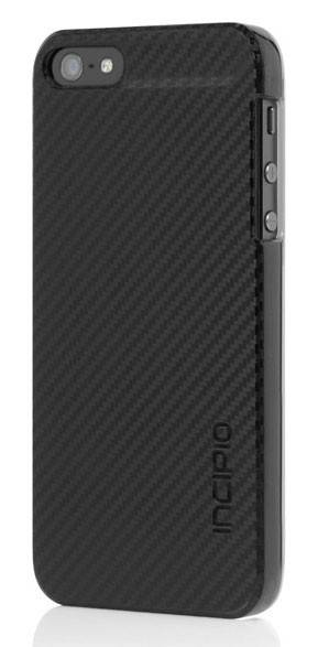 Чехол Incipio для iPhone 5/5S Feather CF черный (IPH-911) - фото 1