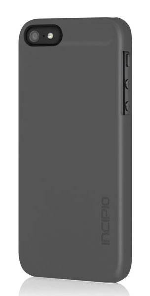 Чехол Incipio для iPhone 5/5S Feather Charcoal Gray (IPH-809) - фото 1