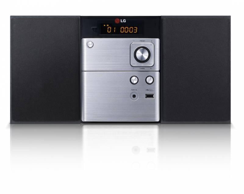 Микросистема Hi-Fi LG CM1530 черный/серебристый - фото 1