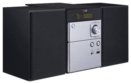 Микросистема Hi-Fi LG CM1530 черный/серебристый - фото 2