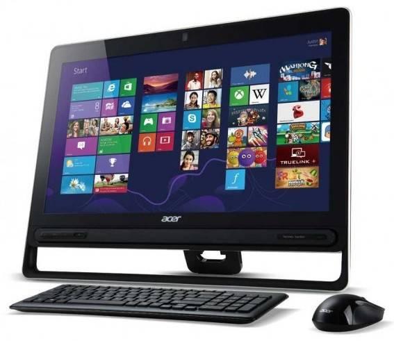 """Моноблок 23"""" Acer Aspire Z3-605t черный - фото 1"""