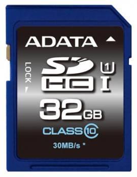 Карта памяти SDHC 32Gb Class10 A-Data ASDH32GUICL10-R