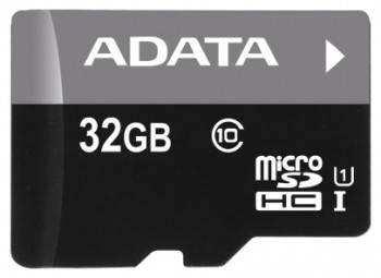 Карта памяти microSDHC 32Gb Class10 A-Data AUSDH32GUICL10-RA1