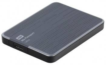Внешний жесткий диск 1Tb WD WDBJNZ0010BTT-EEUE My Passport Ultra серый USB 3.0