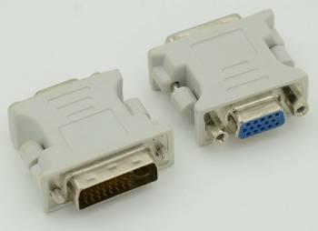 Переходник DVI-I(m) / VGA HD15 (f)