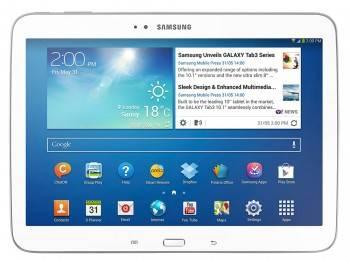 Планшет 10.1 Samsung Galaxy Tab 3 GT-P5210 16ГБ белый (GT-P5210ZWASER)