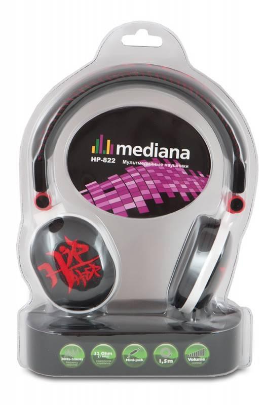 Наушники Mediana HP-822BR черный - фото 6