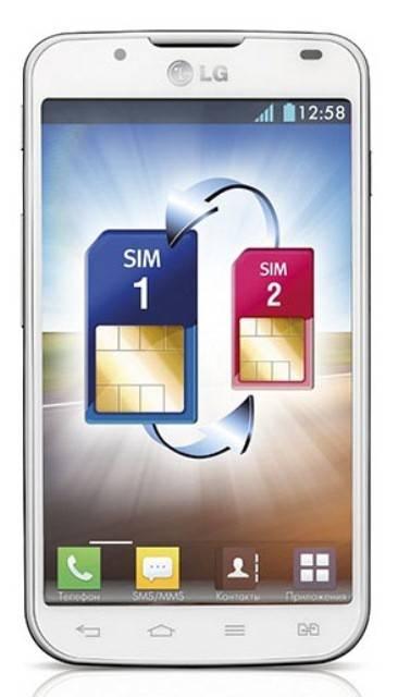 Смартфон LG Optimus L7 II Dual P715 4ГБ белый - фото 1