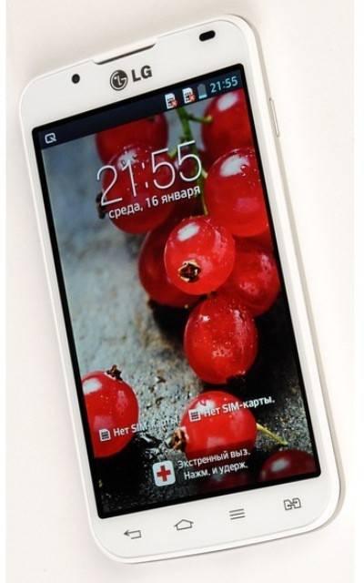 Смартфон LG Optimus L7 II Dual P715 4ГБ белый - фото 2