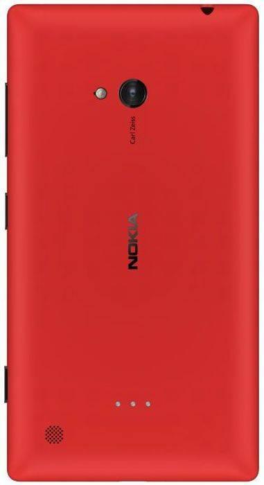 Смартфон Nokia Lumia 720 красный - фото 3