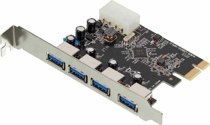 Контроллер PCI-E VIA VL805, 4xUSB3.0, Bulk (ASIA PCIE 4P USB3.0) - фото 3