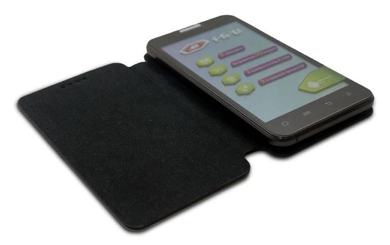 Смартфон IRU Q501 4ГБ черный - фото 8