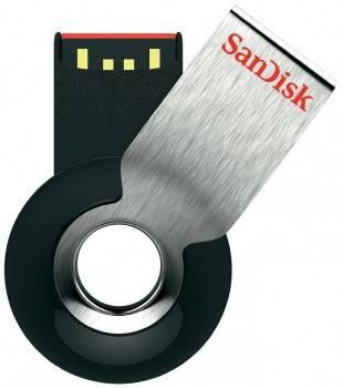 Флеш диск 32Gb Sandisk Cruzer Orbit USB2.0 серебристый