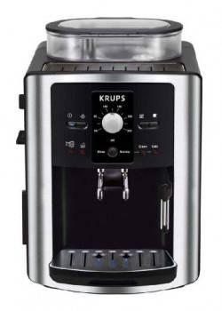 Кофемашина Krups EA8010PE черный / серебристый
