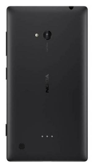 Смартфон Nokia Lumia 720 черный - фото 2