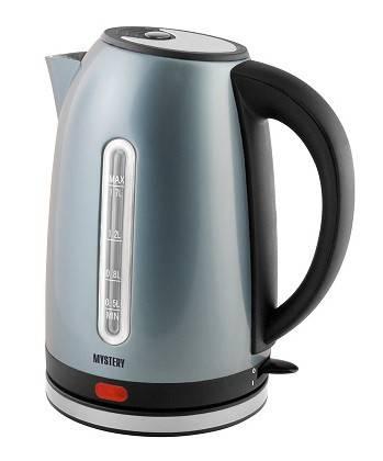 Чайник электрический Mystery MEK-1630 серебристый - фото 1