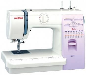 Швейная машина Janome 423S белый