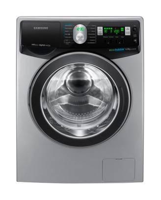 Стиральная машина Samsung WF1602XQR серебристый - фото 1