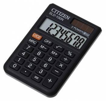 Калькулятор карманный Citizen SLD-100N черный