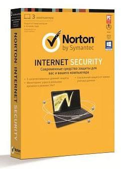 Антивирус Symantec INTERNET SECURITY 2013 RU - фото 1