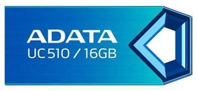 Флеш диск A-Data DashDrive Choice UC510 16ГБ USB2.0 синий - фото 1