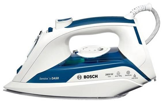 Утюг Bosch TDA5028010 белый/синий - фото 1